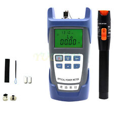 Fiber Optical Power Meter 10KM 10mV Visual Fault Locator Fiber Optic Cable RY10
