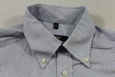 E7399 Eterna Excellent Blackline Businesshemd Kurzarm 40 Blau Weiß Schwarz karie