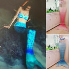 Fairy Mermaid Tail Funny for Swimming Swimmable Swimwear Bra Fun Cosplay Party