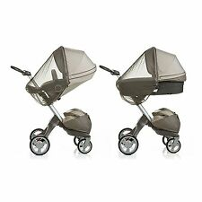 NEW STOKKE SEAT & CARRY COT  MOSQUITO NET FIT CRUSI / XPLORY / TRAILZ ES054A