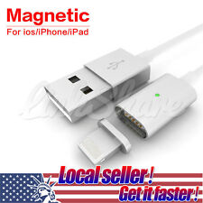 US Magnetic Adapter Charger USB Line Cable For iPhone 5 5s 5c 6s 6splus 7/iPad