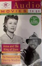 AMC Audio Movies to go Anna and the King of Siam & Treasure of the Sierra Madre