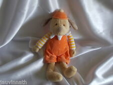 Doudou chien beige, orange, Egmont Toys