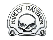 91718-02 Harley-Davidson® Decorative Medallion Skull with script