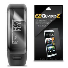 3X EZguardz LCD Screen Protector Skin HD 3X For Garmin Vivosmart HR (Clear)