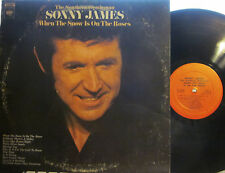 Sonny James - When the Snow Is on the Roses  (Columbia 31646) ('72)