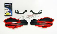 Powermadd Honda 400EX 400 EX Star Handguards Black/Red