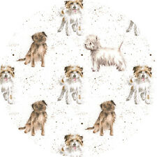 Wrendale Designs TERRIER DOG GIFT WRAPPING PAPER by HANNAH DALE Made in the UK