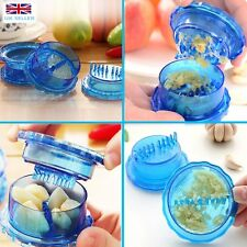 Plastic Garlic Easy Twist Crusher 70mm Ginger Kitchen Tool Press Peeler Ginger