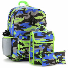 REBOOT Multi-Color 5 Piece Backpack Set, 100% Polyester