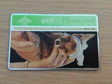 BT Phone card - St Tiggywinkles, 20units, Used