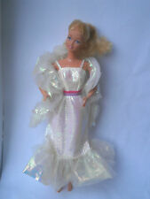 Barbie 1983 Crystal Barbie doll dress and stole (tlc) Super star era