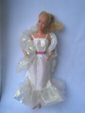 Barbie Vestido De Muñeca Barbie 1983 Cristal y robaron (TLC) Super Star era