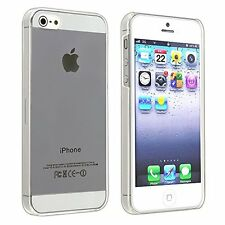 New Slim Thin Crystal Clear Hard Case Cover Screen Transparent iPhone 5 5S