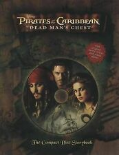 Dead Mans Chest [With CD (Audio)] (Pirates of the Caribbean),GOOD Book