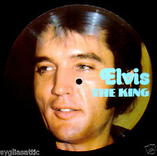 ELVIS PRESLEY-ELVIS THE KING-IMPORT PICTURE DISC-ROCKABILLY-Mean Woman Blues