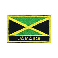 Jamaica Flag Patch Embroidered National Flag Iron On Patch