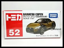 TOMICA #52 DAIHATSU COPEN 1/57 TOMY 2015 April NEW MODEL DIECAST CAR A