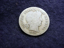 1911-D BARBER DIME NICE COIN!!  #20