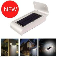 16LED Solar Power Motion Sensor Security Lamp Outdoor Garden Waterproof Light SR