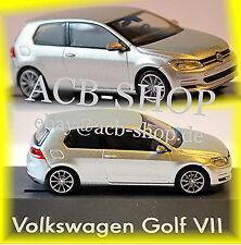 VW Volkswagen Golf 7 - 2-türig 2012-14 reflex silber silver metallic 1:87 Rietze