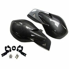 "Carbon 7/8"" Dirt Bike Scooter ATV Motorcross Motorcycle Brush Bar Hand Guard Kit"