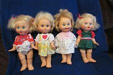 Four Baby Face Dolls by Galoob