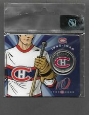 MONTREAL CANADIENS 1910-11 White JERSEY 50 CENT COLORIZED COIN UNC #2 Rare P3321