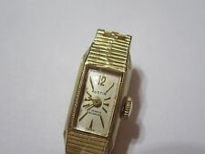 14K Solid Yellow Gold AUSTIN Ladies Watch ( not scrap )