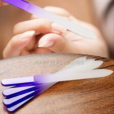 4x Pro Durable Crystal Glass Nail File Buffer Art Files Manicure Device Tool