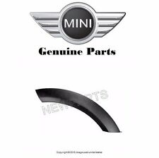 Mini Cooper 2002 2003 2004 2005 - 2008 Genuine Wheel Arch Trim for Hood (Black)