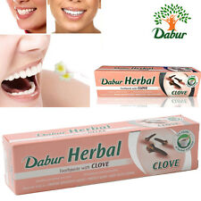 Dabur Herbal Pasta de dientes con clavo de olor no added fluoruro de goma protege 100 Ml