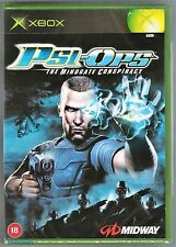 Xbox Psi-Ops: The Mindgate Conspiracy, UK Pal, New & Microsoft Factory Sealed