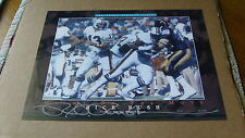Rick Rush Miami on the Move Dan Marino Vignette Lithograph Dolphins /5000 COA