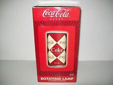 Coca Cola Brand Rotating Lamp New