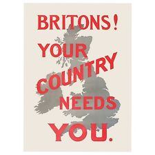 Britons! Your country Needs You fridge magnet    (hb)   REDUCED - one only
