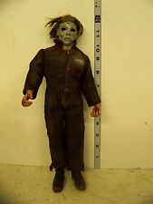 Halloween Michael Myers 12in Custom Made brown jumpsuit