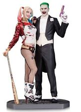 2017 DC COMICS SUICIDE SQUAD MOVIE JOKER & HARLEY QUINN STATUE (BRAND NEW MINT)!