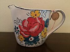 Anthropologie MOLLY HATCH Red Flowerpatch Measuring Cup Floral * Great Gift *