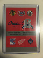 Official Canada Post Original 6 Six Stamps HEADER BOOKLET