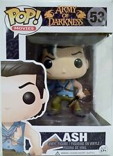 "ASH Army of Darkness Pop Movies 4"" inch Vinyl Figure #53 Funko 2014"