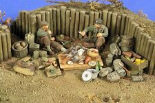 "Verlinden 1/35 ""Camping Grounds"" US Infantry Resting Break WWII (2 Figures) 2779"