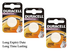3x Long Lasting Power Duracell  2032 Cr2032 Dl2032 Lithium Batteries