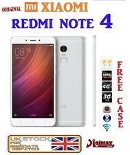 "5.5"" argent blanc 32GB XIAOMI REDMI NOTE 3 PRO SNAPDRAGON 650 16MP hd premier uk"