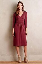 NWT Anthropologie Sz S Galena Midi Dress by Maeve Beautiful Classic Small