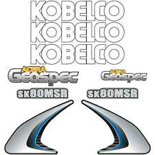 Kobelco SK80MSR Decals Stickers New Repro Decal Kit