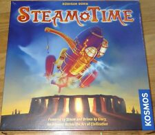 Steam TIme Board Game by Rudiger Dorn Kosmos Steampunk Time Travel Strategy