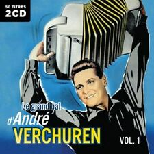 CD Le grand bal d'André Verchuren : Volume 1 - 2 CD - 50 Songs / IMPORT