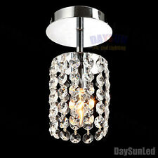Led Crystal Ceiling Lamp Small Modern Chandelier Ceiling Pendant Light Hallway