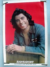 RARE JOHN TRAVOLTA BARBARINO WELCOME BACK KOTTER 1977 VINTAGE ORIG PIN UP POSTER